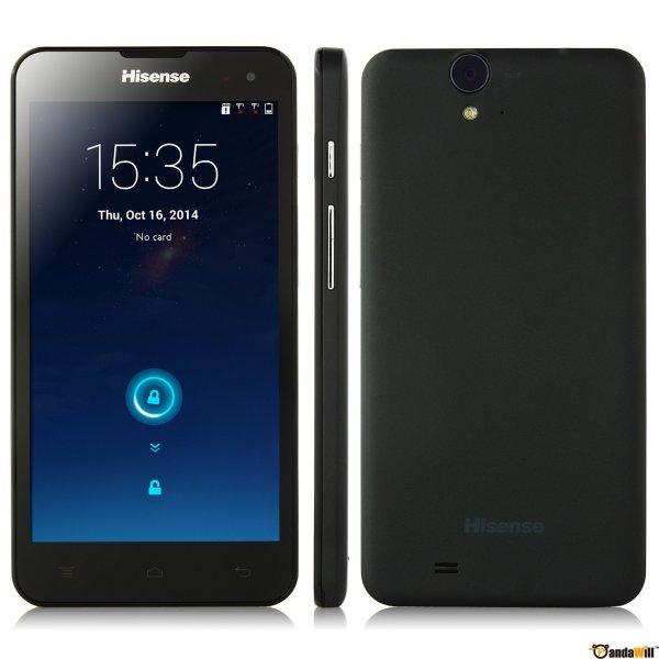 Hisense U971 Smartphone Quad Core 5.0 Inch HD IPS OGS Screen 3G GPS Android 4.3 Black