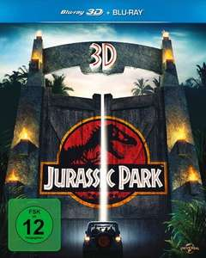 [Blu-Ray] Jurassic Park 3D 10,79€ & Nurse 3D 10,97€ @media-dealer.de