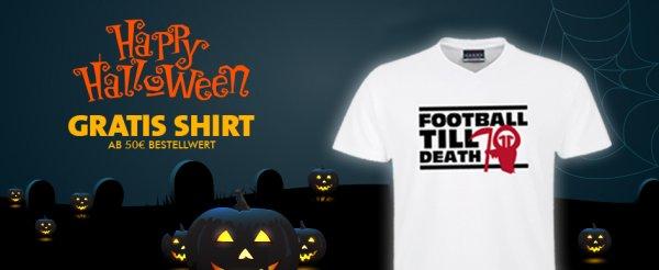Gratis T-Shirt bei einem Mbw von 50€ auf 11teamsports.de