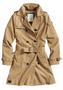 SURPLUS™ Raw Vintage Damen Jacke Armored Jacket / Trenchcoat / Softshell Beast für nur 16,90€