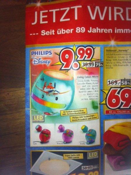 Philips Living Color Micro Disney (lokal Segmüller Friedberg)