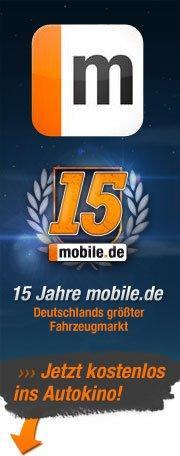 Kostelose Karten für Autokino in Facebook auf mobile.de-Seite (Essen, Frankfurt/Main, München, Berlin)