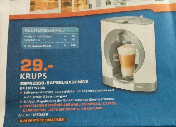 Saturn Ludwigshafen Krups Espresso-Kapselmaschine KP 1101 Nescafé Dolce Gusto Oblo