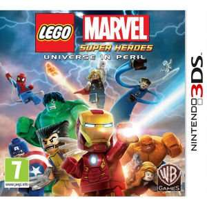 LEGO: Marvel SuperHeroes Nintendo 3DS für 16,48€ inkl. Versand @Zavvi