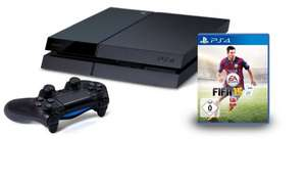 Amazon Playstation 4 + Fifa 15 399€