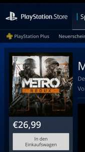 Metro Redux [PS4] im Playstation Store