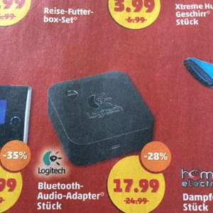 [offline bei Penny] Logitech Bluetooth Audio Adapter