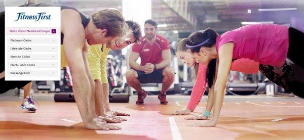 Fitness First Mitgliedschaften mit über 50% Rabatt bei vente-privee — Platinum, LifeStyle, Women, Black Label, Kurse