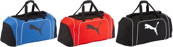 """Puma™ - Trainingstasche """"Team Cat Bag L"""" (84 Liter/Schwarz,Blau,Rot) ab €17,23 [@MeinPaket.de]"""
