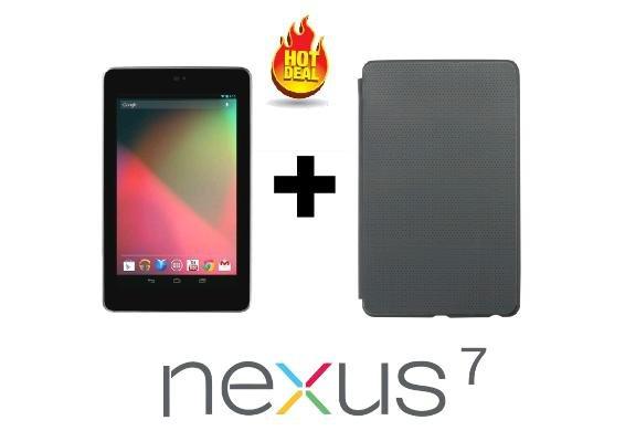 Asus Nexus 7 (2012) 8 GB black + Schutzhülle für 66,66€ @Dealclub oder 2 für 128,99€ (64,50€ pro Stück)