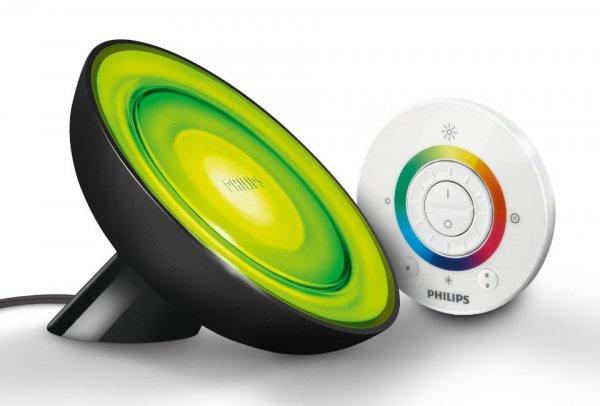 Philips Leuchte LivingColors Bloom Lampe 43 Euro bei Lesara mit Gutschein schwarz 7099730PH