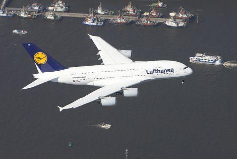 A380 Rundflüge über Hamburg ab 39 Euro