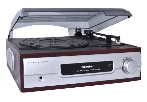 ebay: Karcher KA 8050 Schallplattenspieler integrierter Lautsprecher Stereo zu 24,99 euro