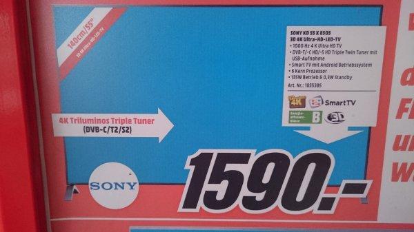 @Mediamarkt Wiesbaden Sony 55x8505
