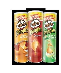 Pringles-Dosen 190g  (versch. Sorten) [Kaufland]