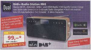 Dual IR 6S Digitalradio UKW/DAB+/WLAN/AUX-In  @ Norma