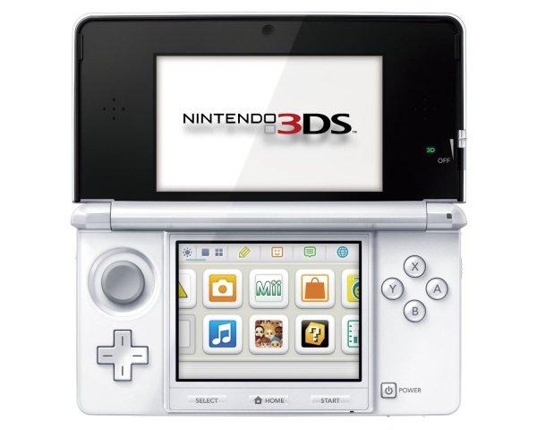 Nintendo 3DS schneeweiß für 112,30€ inkl. Versand @ Amazon.es