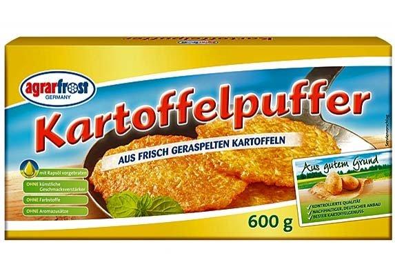 [REWE / Kaufpark] Agrarfrost  Kartoffelpuffer 720g-Packung  - nur am Montag, 03.11.