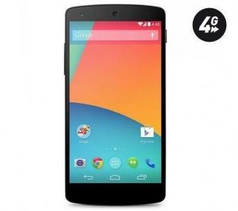 Google/LG Nexus 5 16 GB schwarz für 297,88€