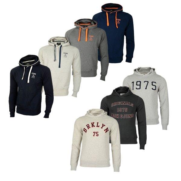 ebay  WOW: Jack and Jones Penn Sweat und JJOrdamon Hoodie verschiedene Farben Gr. S bis 2XL @ 19,90 Euro inkl. Versand