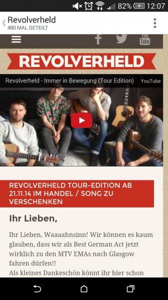 Revolverheld - Spinner Tour Edition