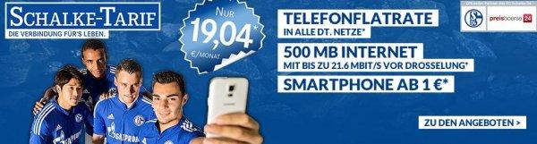 Galaxy S5 Mini mit Allnet Flat und 500MB für € 457 (€ 19,04 im Monat)