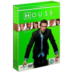 Dr. House - Season 4 [4 x DVD] für 7.49€ @ Play.com