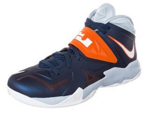 [Outfitter.de] Nike LeBron Zoom Soldier VII - blau/orange, reduziert