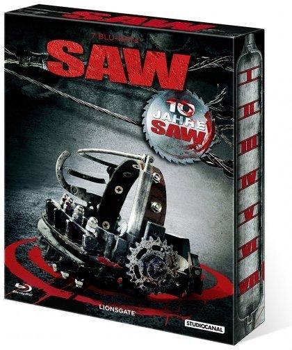 SAW I-VII - 10 Jahre SAW (Blu-ray) für 33,33€ bei Media-Dealer
