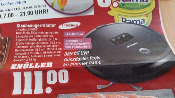 Lokal? Edeka Samsung SR 8750 Staubsaugerroboter für 111€