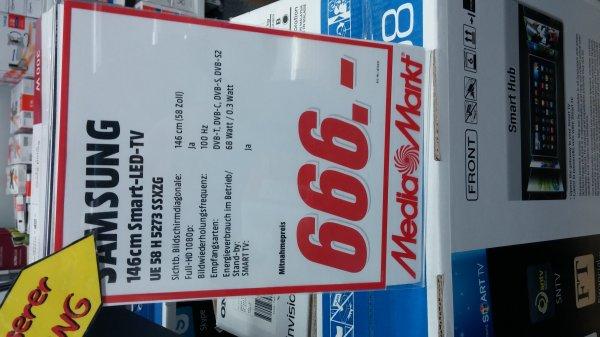 [Lokal Köln] Media Markt Chorweiler Samsung UE58H5273 für 666 €