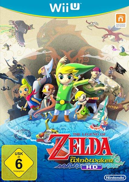 [WiiU]  The Legend of Zelda - The Wind Waker, Super Mario 3D World, Wii Party U + Controller @ Expert-Technomarkt.de