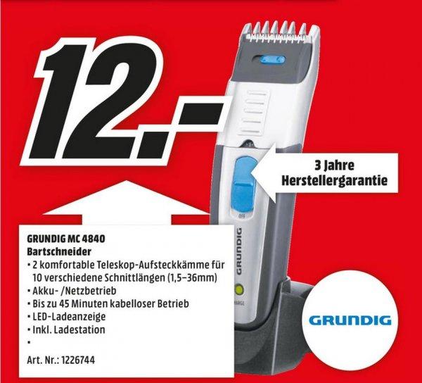 [MM WEITERSTADT] GRUNDIG MC 4840 Haar/Bartschneider für 12,- €