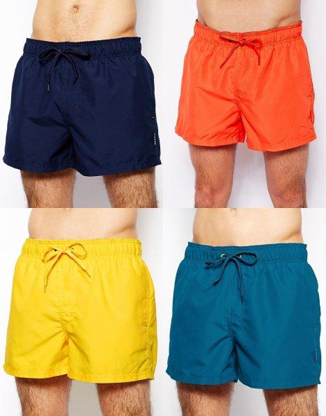 """Esprit™ - Herren Badeshorts """"Seal Beach"""" (Blau,Orange,Gelb,Türkis) für €12,93 [@Asos.de]"""