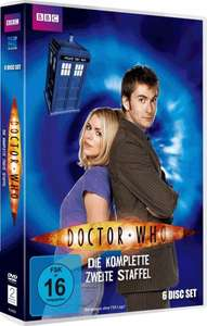 [Amazon Prime] Doctor Who deutsch Staffel 2 DVD