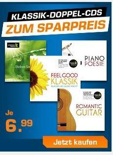 Saturn Online Shop Klassik Doppel CDs für jeweils 6,99 €