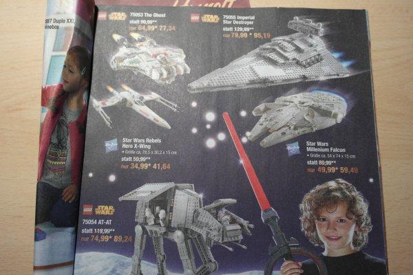 Metro Starwars Lego 75055 Imperial Star Destroyer für 76,15€ und andere Lego Starwars Sachen