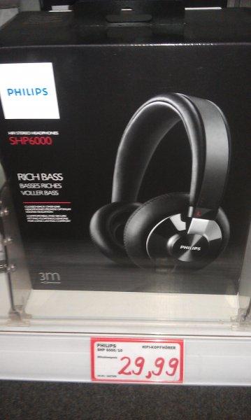 (MediaMarkt Schwentinetal) Kopfhörer Philips SHP 6000