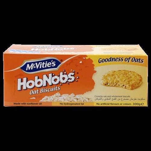 [Action Sonderpostenmarkt] McVities Hobnobs Haferflocken-Vollkornkekse (ähnlich Brandt Hobbits) 300g 0,49€