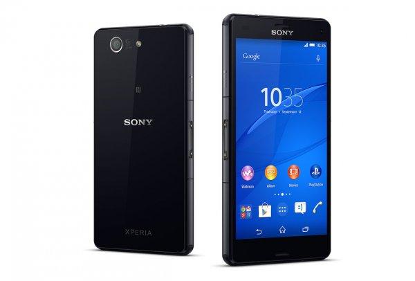 Sony Xperia Z3 Compact Schwarz/Weiß