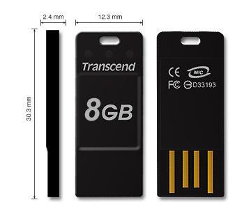 Transcend JetFlash T3 USB 2.0 8GB 7,39 € INKL VERSAND ! [@MeinPaket.de]