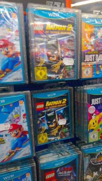 (lokal Hannover) Lego Batman 2 DC Super Heroes Wii U für 12.99