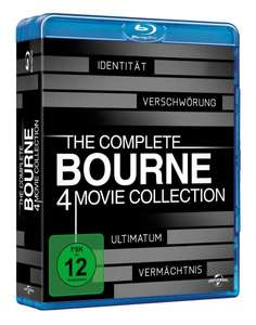 The Complete Bourne Collection auf 4 Blu-rays 15,97€ @ Amazon Prime