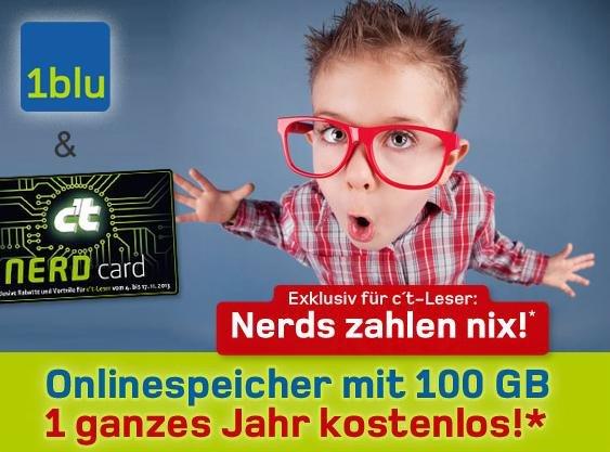 100GB Webspeicher für 1 Jahr Kostenlos @ 1blu