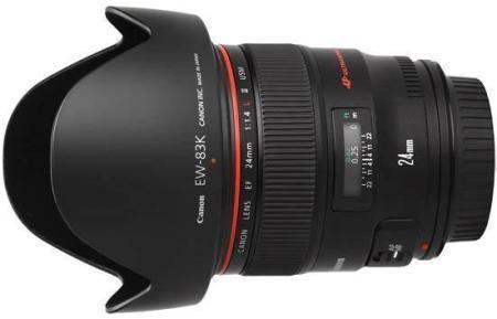 Canon EF 24mm f1.4 L USM II für 1319,12€, nächster Preis: 1448,99€