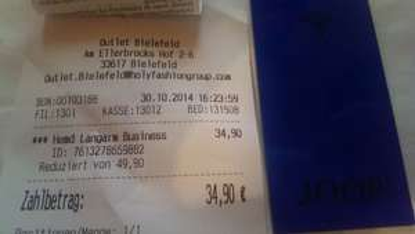 JOOP Pierre Slim Fit Outlate Bielefeld *lokal* 34.90€