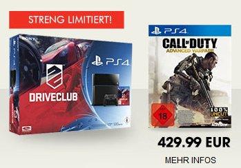 PS4 + Call of Duty Advanced Warfare + #DRIVECLUB @Gamestop