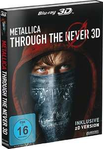 METALLICA - Through the Never (2-Disc Edition) [3D Blu-ray inkl. 2D] 9,97€ @Amazon Prime