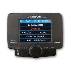 Albrecht DR56 Autoradio Adapter (DAB, DAB+, Bluetooth) ab 84,15€