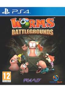 Worms Batt­le­ground für PS4 & Xbox One inkl. Vsk für ca. 19 € > [base.com]